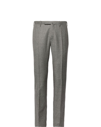 Incotex Slim Fit Puppytooth Virgin Wool Trousers
