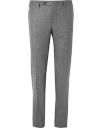 Canali Slim Fit Wool Trousers
