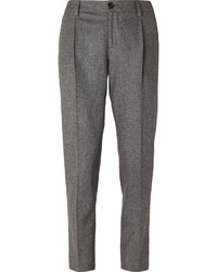 Brunello Cucinelli Slim Fit Wool Trousers
