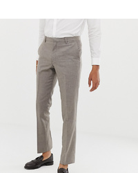 Heart & Dagger Slim Suit Trousers In Wool