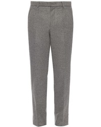 Wooyoungmi Slim Tapered Leg Wool Trousers