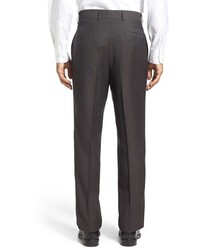 Linea Naturale Tic Weave Super 100s Wool Trousers