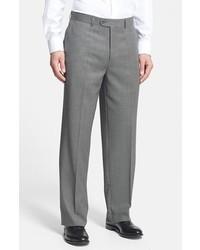 Tic weave super 100s wool trousers medium 1148212