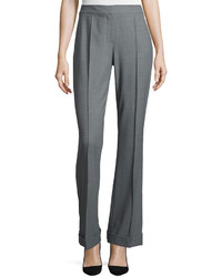 Elie Tahari Bailee Flared Flannel Pants