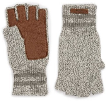 Polo Ralph Lauren Ragg Merino Wool Blend Fingerless Gloves