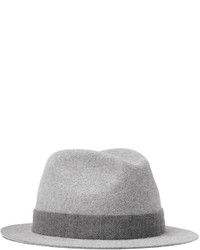 Kirk hare and cashmere blend felt trilby medium 800483