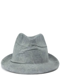 Borsalino Reinhard Plank Creased Trilby Hat