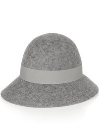 Stella McCartney Wide Brim Wool Felt Hat