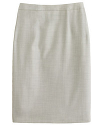 Pencil skirt in super 120s wool medium 366223