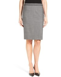 Vileta mlange wool suit skirt medium 717211