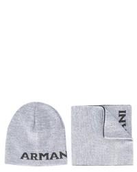 Armani Junior Hat And Scarf Set