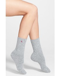 Ralph Lauren Twist Trouser Socks Light Grey Heather 911