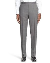 Z Zegna Drop 7 Trim Fit Solid Wool Suit