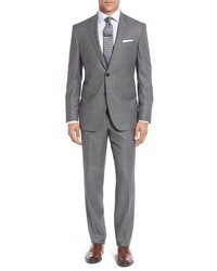 Ted Baker London Jay Trim Fit Solid Wool Suit