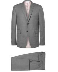 Thom Browne Grey Wool Suit