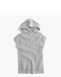 J.Crew Girls Sleeveless Hooded Popover Sweater