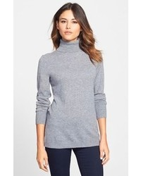 Collection long cashmere turtleneck sweater medium 97865