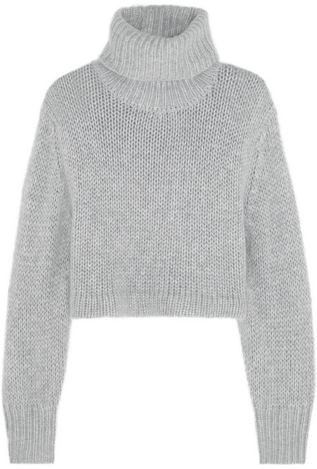 2b44e3b1ac5 £664, Dion Lee Cropped Knitted Turtleneck Sweater