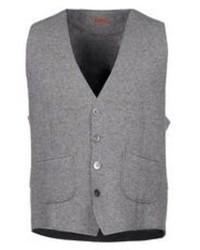 Grey Wool Waistcoat