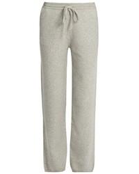 Joseph Mid Rise Wide Leg Wool Trousers