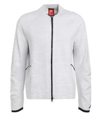 Tech tracksuit top whitepure platinumwolf grey medium 4161539