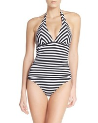 Horizontal Striped Swimsuit