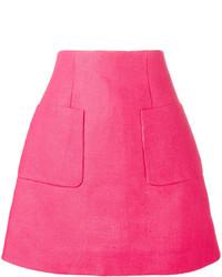 Hot Pink A-Line Skirt