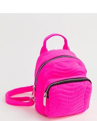 Skinnydip Zadie Pink Neon Backpack