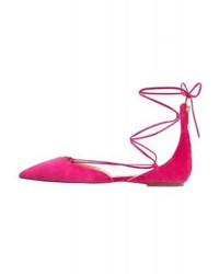 J.Crew Sadie Ballet Pumps Fuscia Bloom
