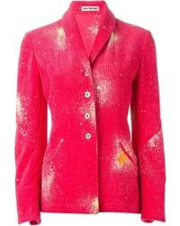 Issey Miyake Vintage Splatter Corduroy Blazer