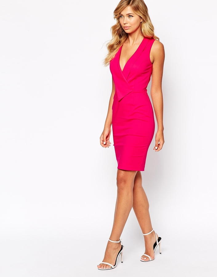 Paper Dolls Pencil Dress With Origami Pleats - Where to buy &amp- how ...