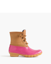 J.Crew Girls Sperry Saltwater Boots