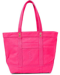 Hot Pink Canvas Tote Bag