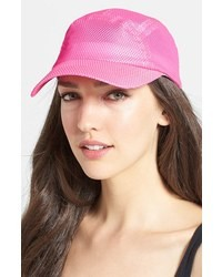 Collection XIIX Shiny Mesh Baseball Cap Pink Pop One Size
