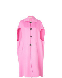 Hot Pink Cape Coat