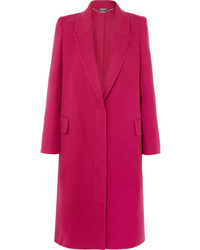 Alexander McQueen Wool And Cashmere Blend Coat