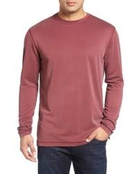 Bugatchi Long Sleeve Crewneck T Shirt