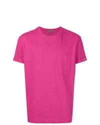 Hot Pink Crew-neck T-shirt