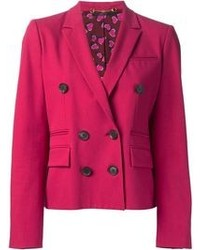 Gucci Cropped Double Breasted Blazer