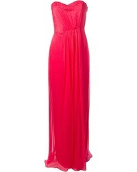 Hot Pink Evening Dress