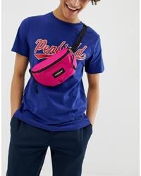 Eastpak Springer 2l Bum Bag In Neon Pink