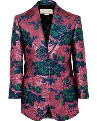 Gucci Floral Brocade Blazer