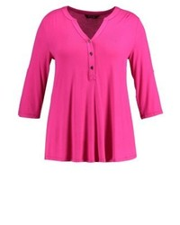 Evans Long Sleeved Top Pink