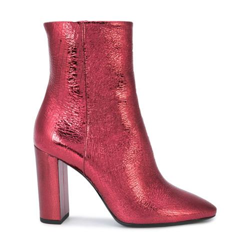 d3d27555c8b £1,407, Saint Laurent Block Heel Ankle Boots