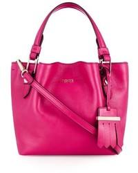Tod's Flower Mini Leather Cross Body Bag