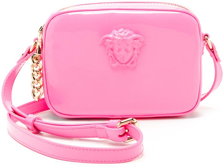 9674fa4557 ... Versace Leather Cross Body Bag ...