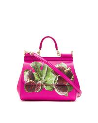 Dolce & Gabbana Fig Print Tote Bag