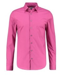 Calvin Klein Bari Slim Fit Shirt Magenta