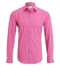 Cannes fitted shirt magenta medium 3779405