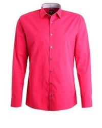 Olymp No. 6 Super Slim Formal Shirt Lackrot